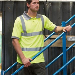 Hi-Vis Safety Polo Shirt Thumbnail