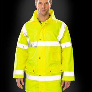 Result Safe-Guard Motorway Coat Thumbnail