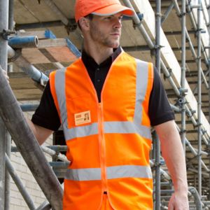 Result Safe-Guard Zip Safety Tabard Thumbnail